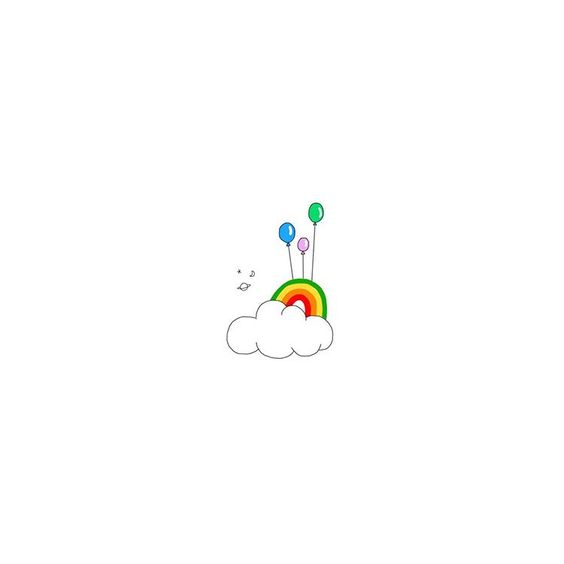 Cute Doodles to Draw - Rainbow