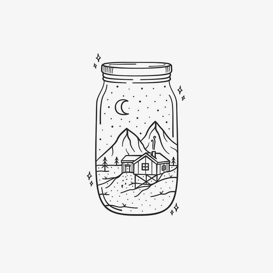 Drawing Ideas Jar