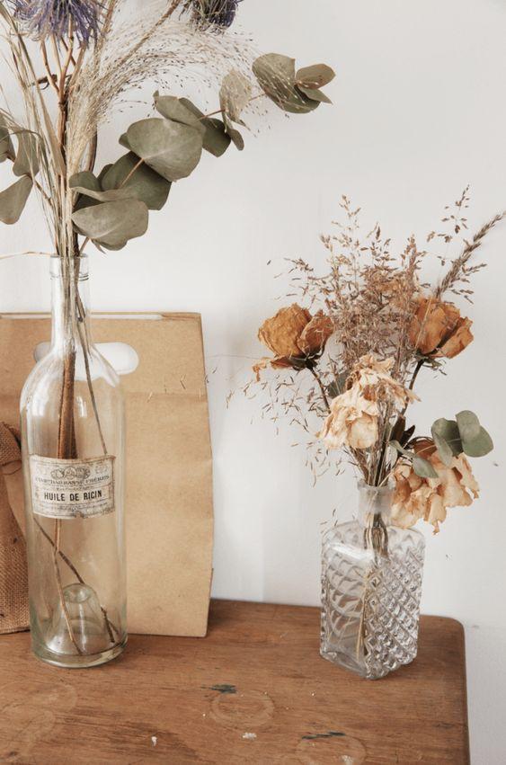 Home Decor Ideas - Dried Flowers