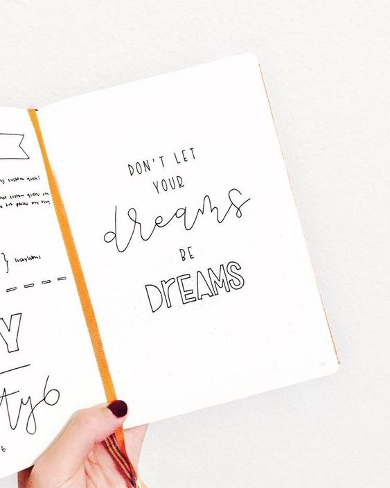 Bullet Journal Inspirational Quotes