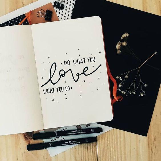 Inspirational Quotes Bullet Journal