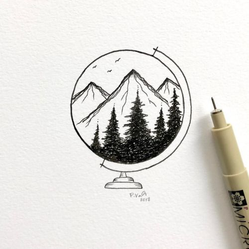 Drawing Ideas Nature