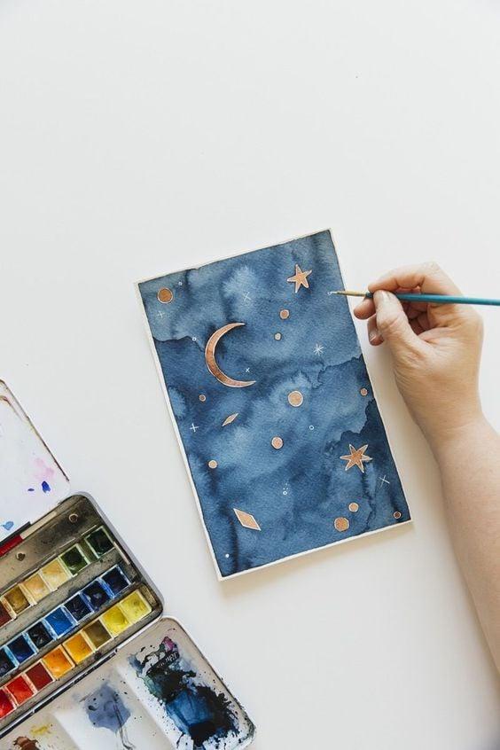 Easy Watercolor Ideas