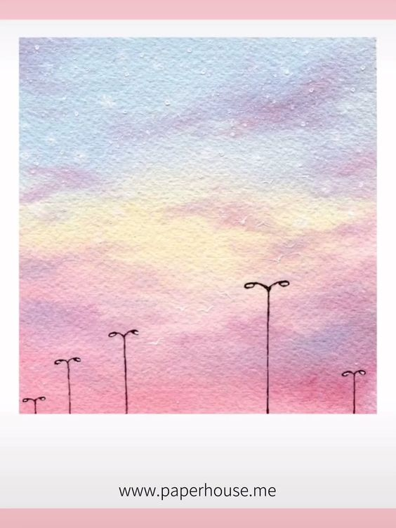 Easy Watercolor Ideas