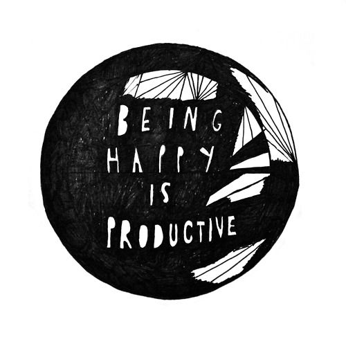 Happiness Quotes about Productivity