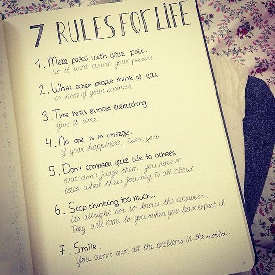 motivational self care bullet journal ideas