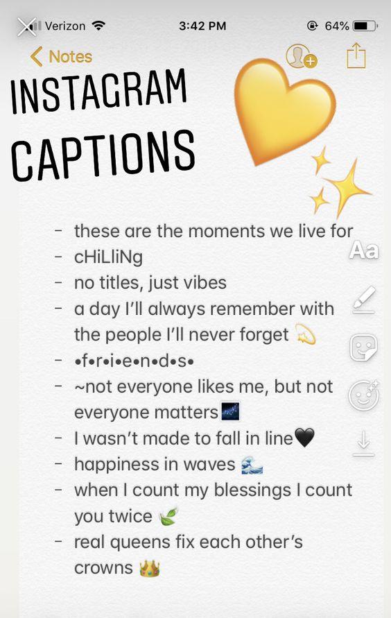 200 Best Short Instagram Caption Ideas