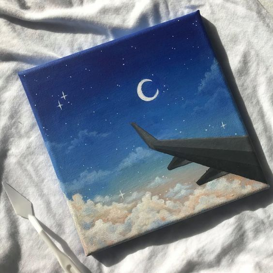 canvas painting idea