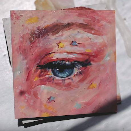acrylic canvas painting idea