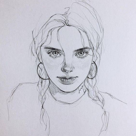 how to draw faces