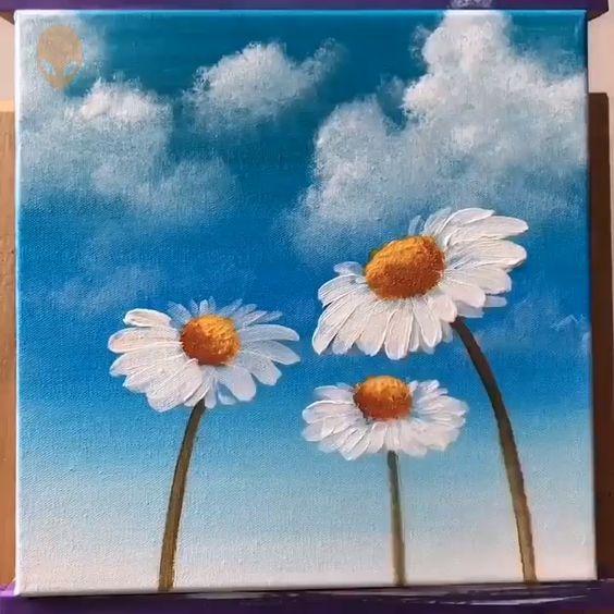 acrylic painting idea