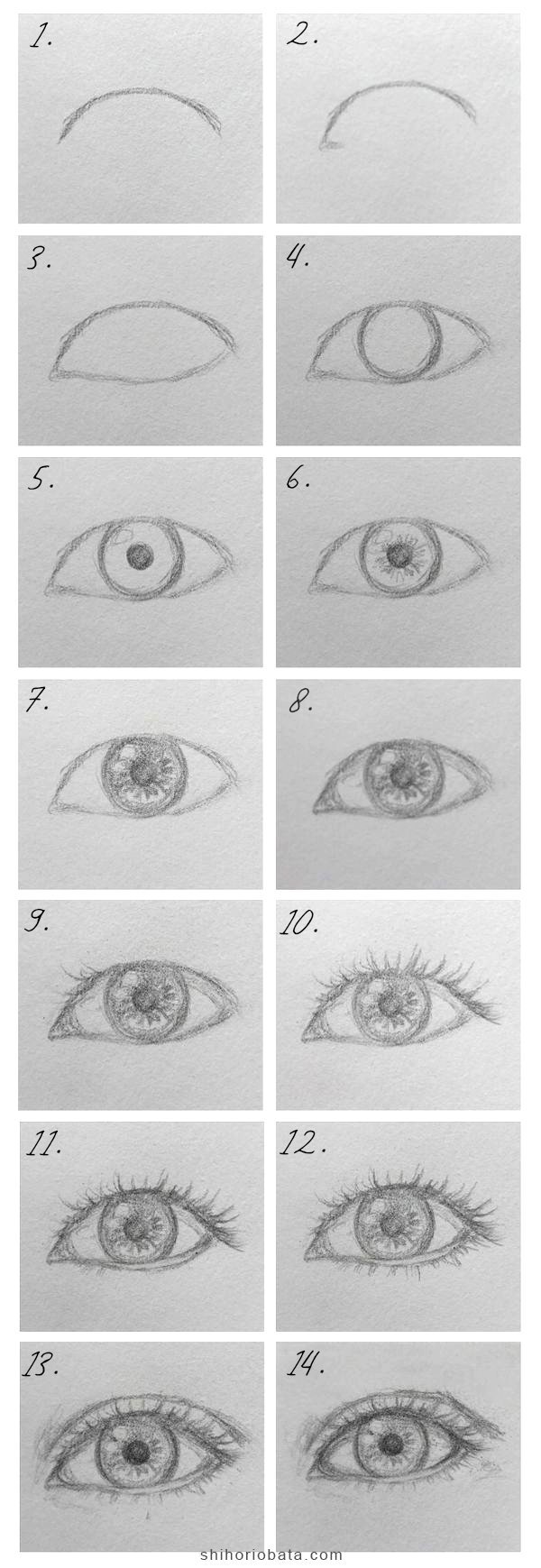 How To Draw A Realistic Eye An Easy Step By Step Guide