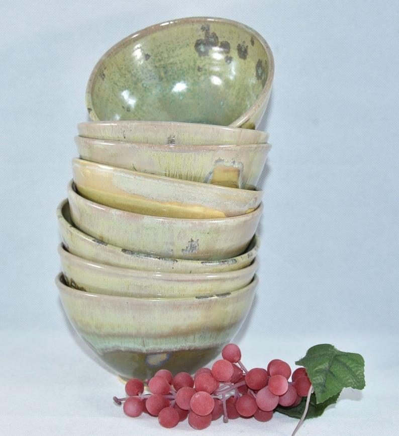 handmade ceramic ramen bowl
