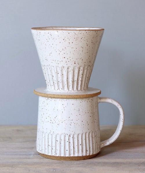ceramic coffee dripper handmade