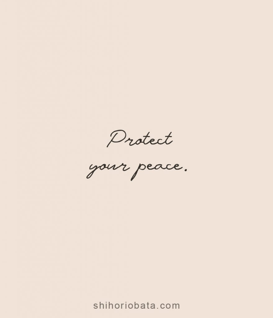 protect your peace short quotes