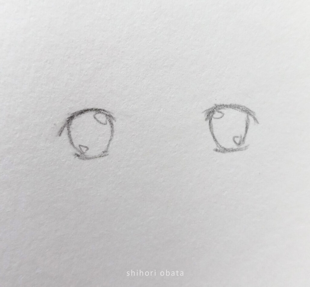 anime eye drawing