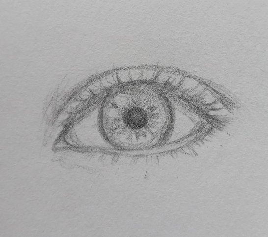 how to draw easy eyes