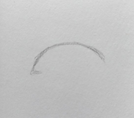 Step 2 drawing an eye