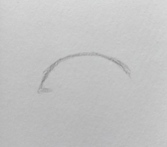 Step 2 drawing an eye