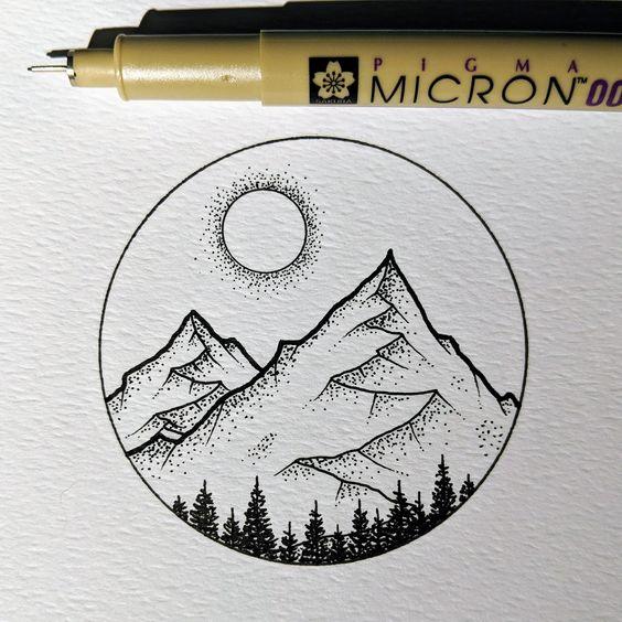 creative hobby drawing idea