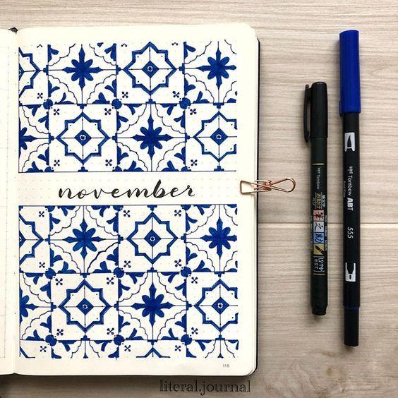 bullet journal november ideas