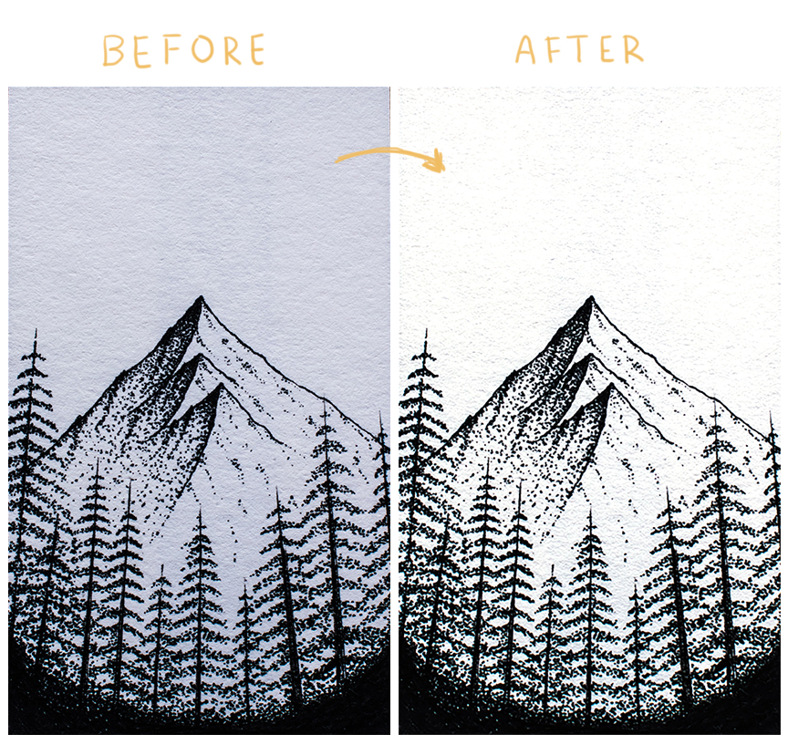 how to edit art prints