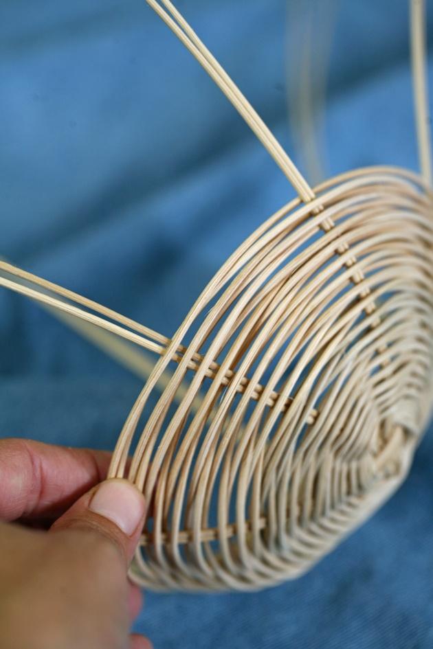 diy basket weaving creative hobby