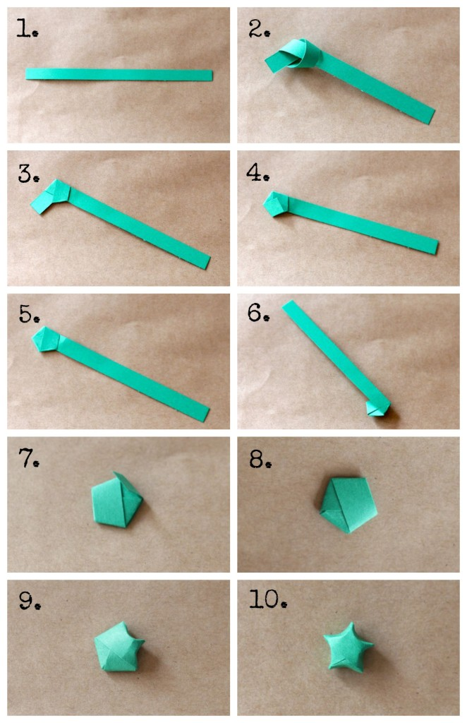 diy origami star idea creative hobbies