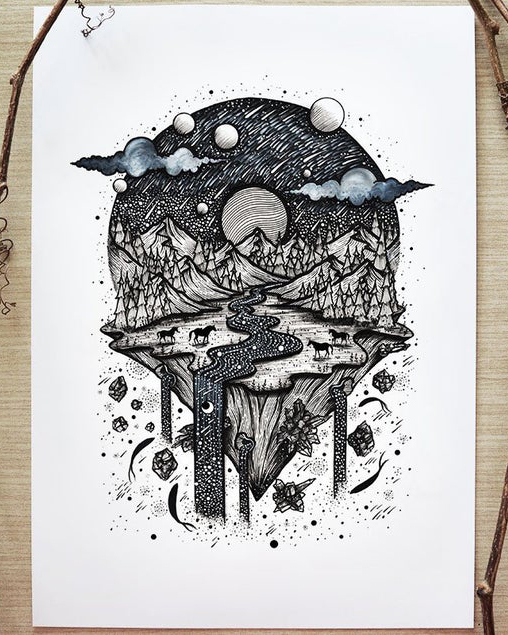 black and white art print etsy