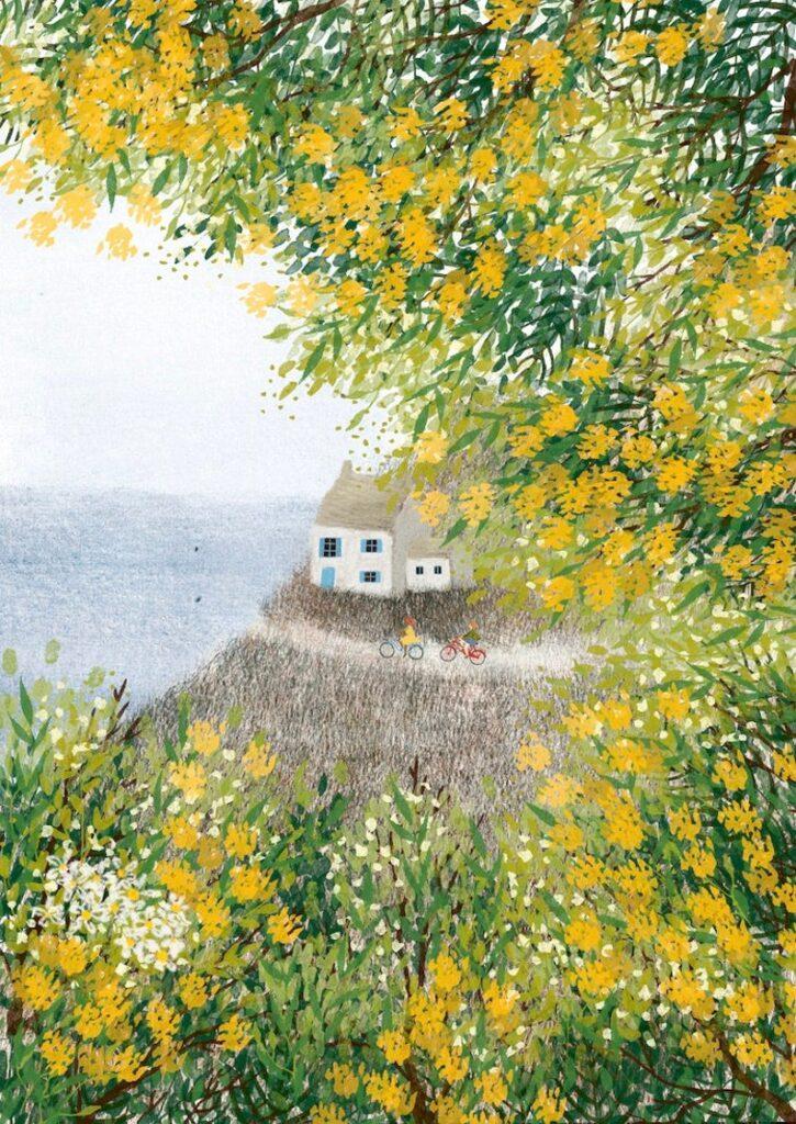 art print home countryside etsy