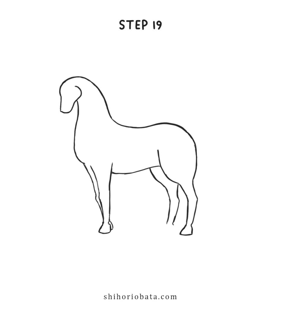 unicorn drawing step by step tutorial