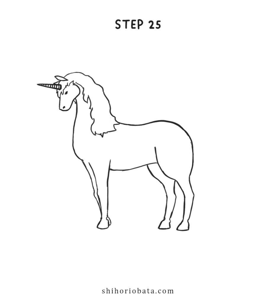 draw a unicorn