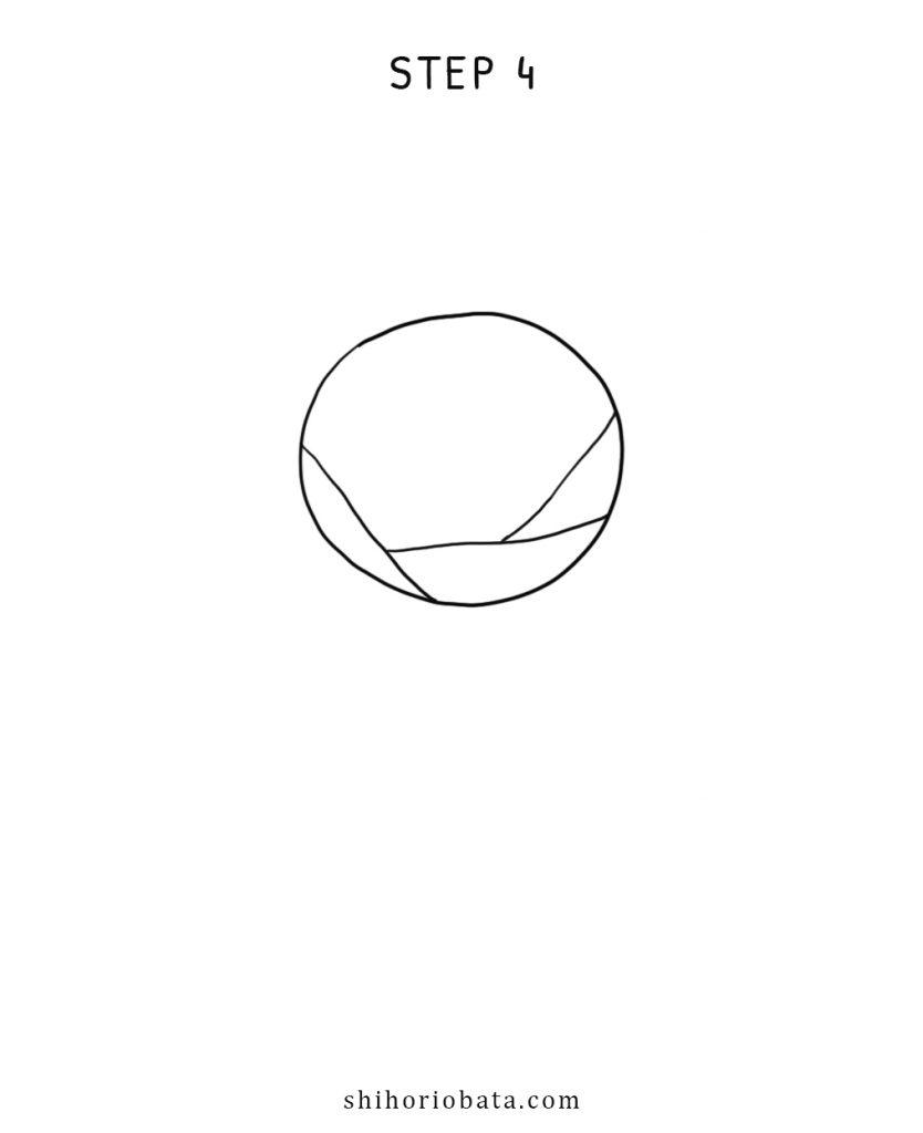 step 4 rose drawing simple