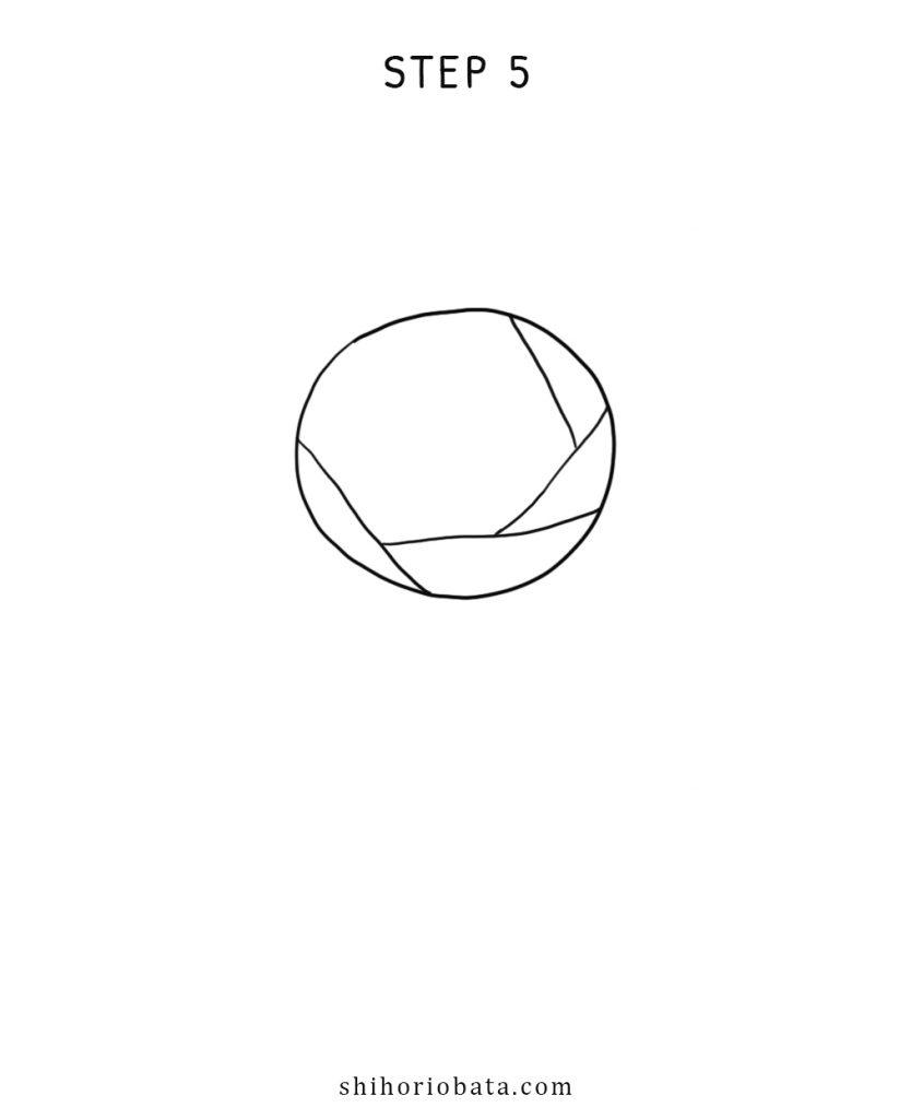 rose drawing simple step by step