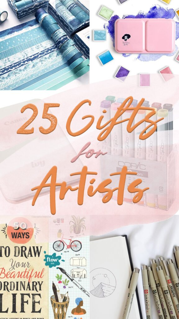 25 Perfect Gifts For Artists Art Lovers