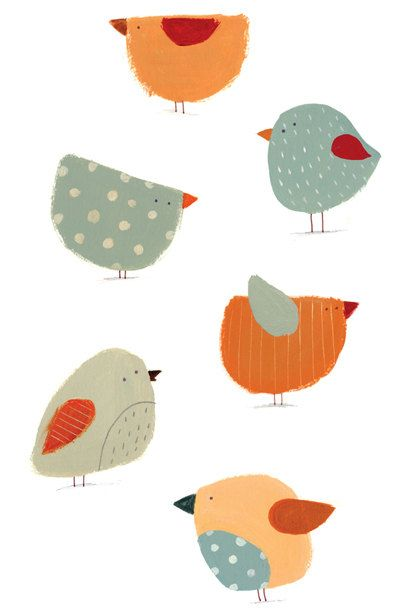 easy bird drawing