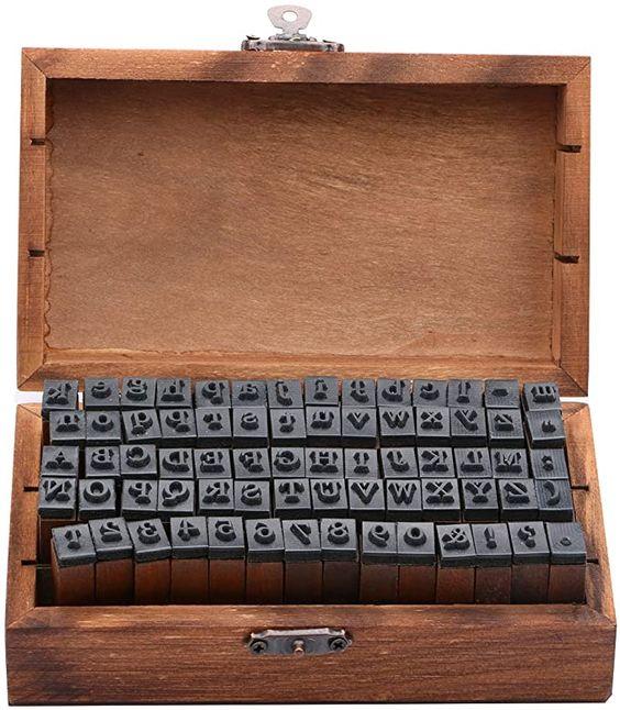 alphabet stamp kit