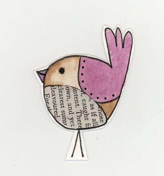 easy simple bird drawing