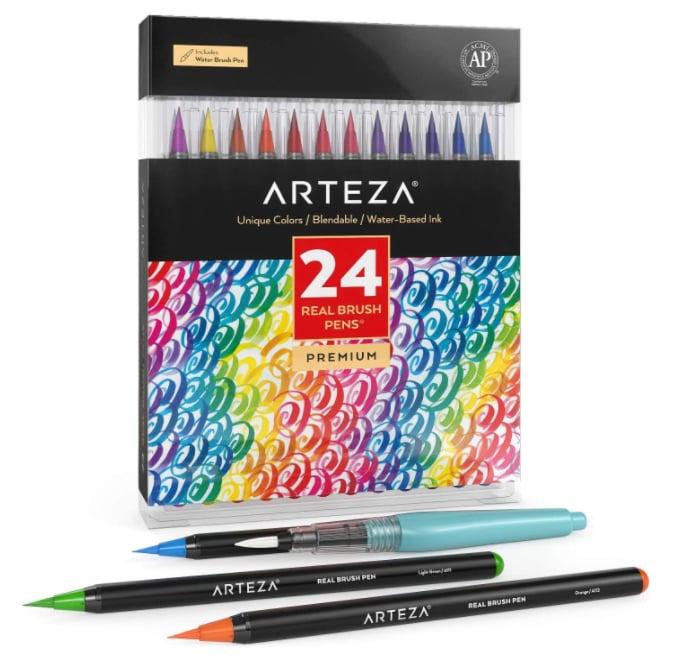 arteza brush pen
