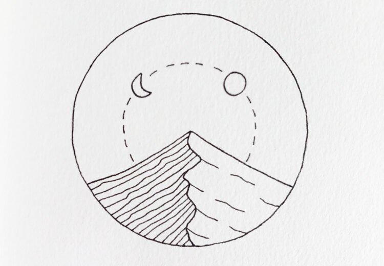 easy circle drawing ideas