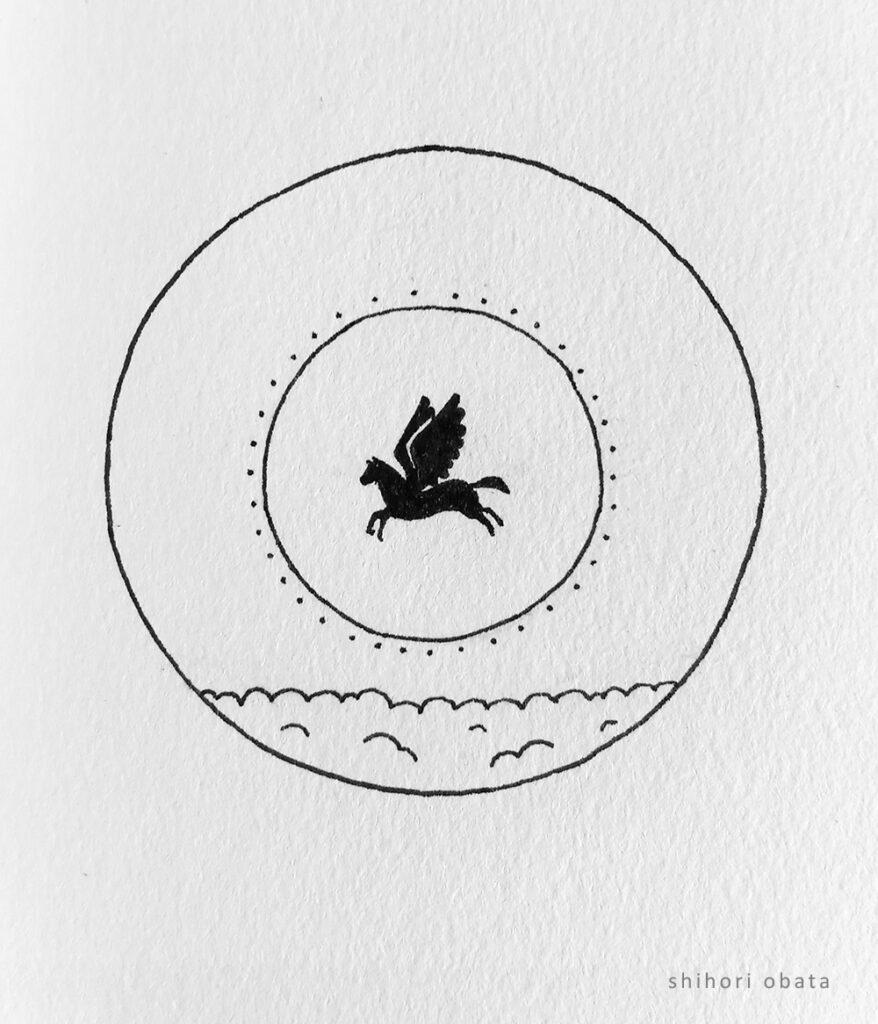 pegasus drawing