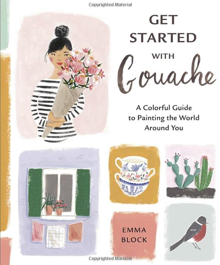 how to paint gouache