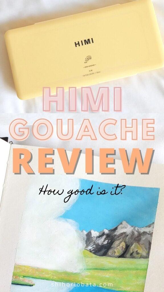 himi gouache set review