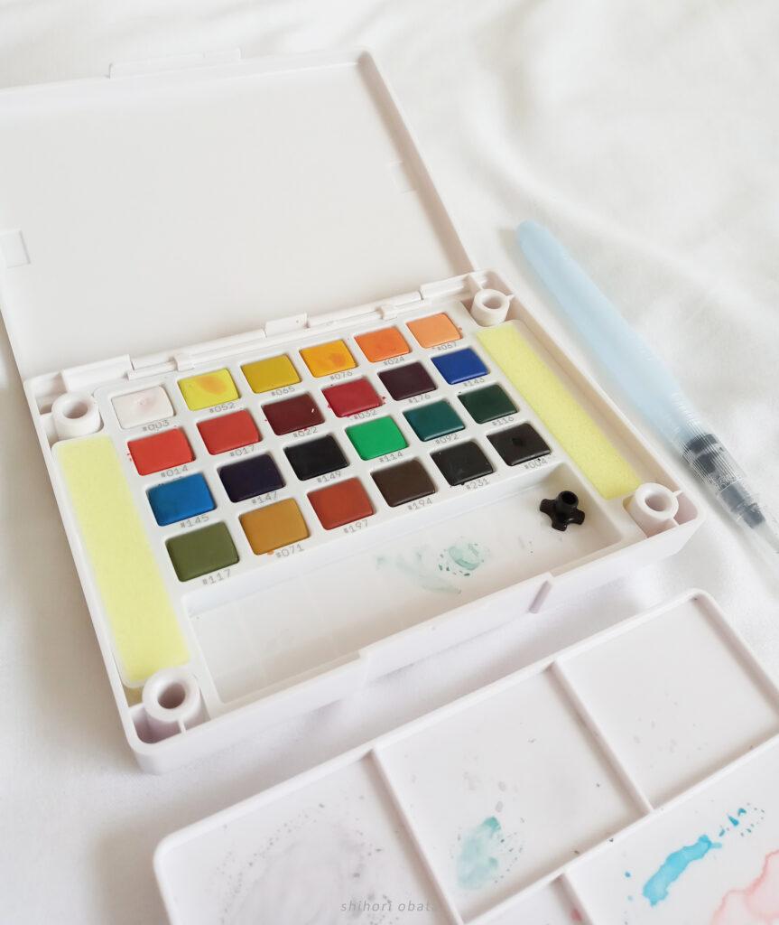 koi watercolor set