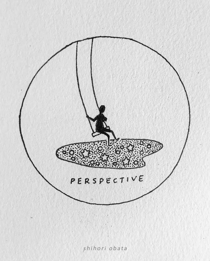 swing perspective drawing