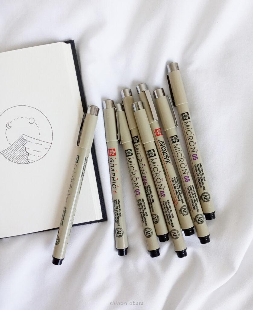sakura pigma micron pens