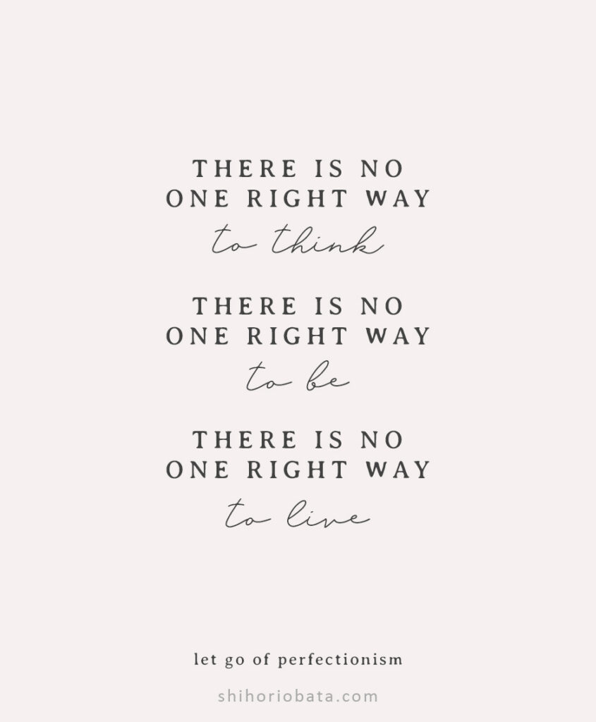 there is no one right way anxiety quotes