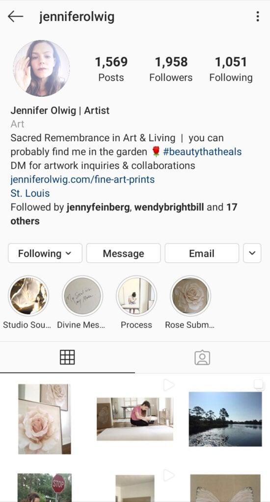 jenniferolwig instagram