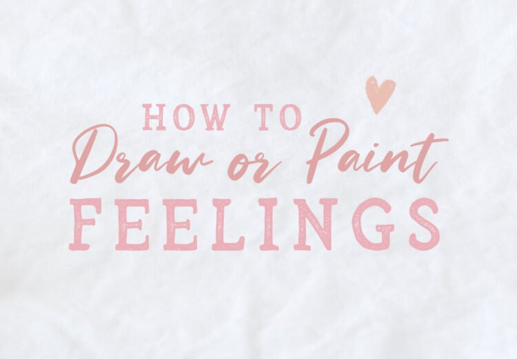 how to draw paint your feelings