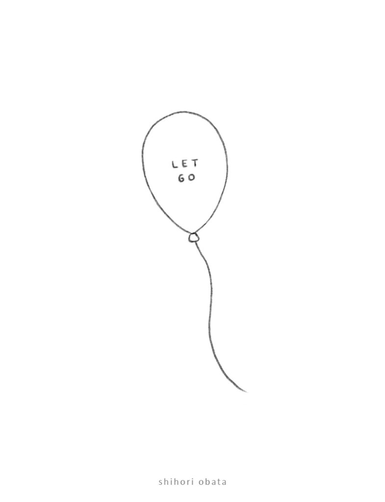 balloon drawing idea